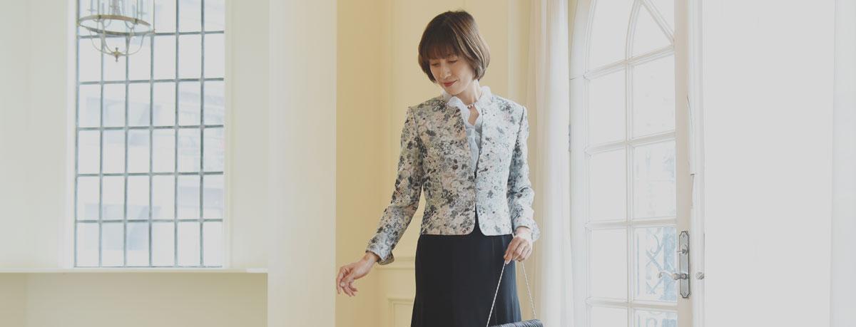 東京ソワールレンタルドレス ジャケットスタイル特集
