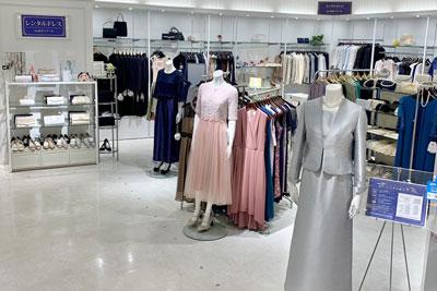 東京ソワールレンタルドレス 新宿マルイ本館店